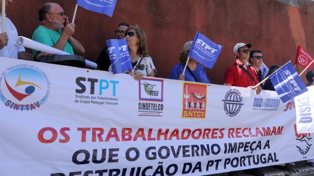 Trabalhadores da PT Portugal realizam hoje plenário e vigília em Lisboa