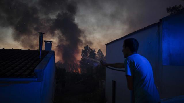 Reacendimentos em Ortiga, Mação, voltam a preocupar população