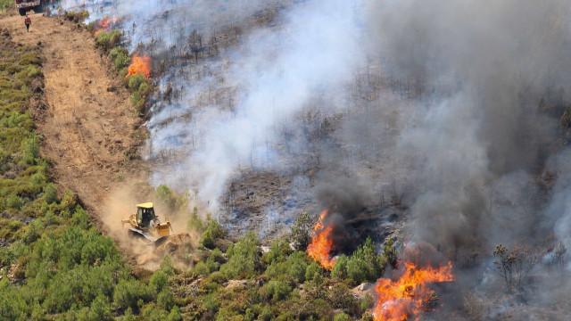 Mais de 4.000 operacionais combatem chamas em 108 incêndios