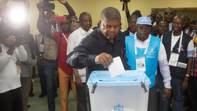 Novos dados provisórios dão vitória ao MPLA com 61,70% dos votos