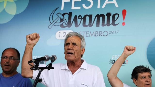 Jerónimo de Sousa discursa na abertura da rentrée política do PCP