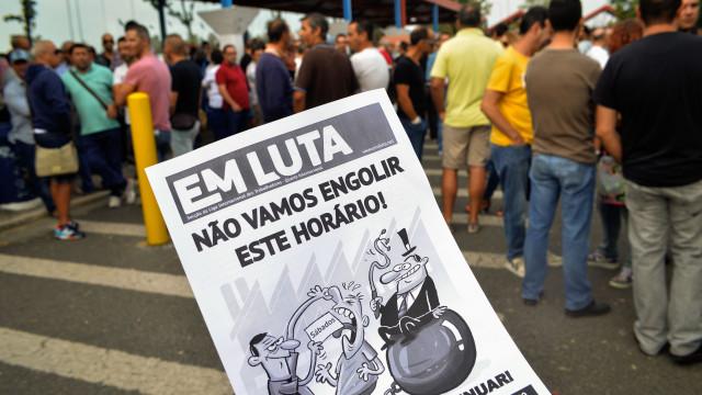 Trabalhadores em greve histórica na Autoeuropa confiantes num acordo
