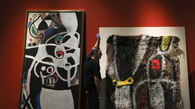 Obras de Joan Miró do Estado português inaugurada hoje em Itália