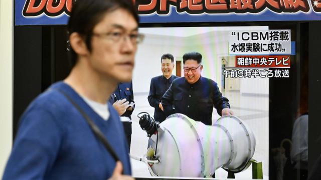 Coreia do Norte terá transportado míssil balístico para a sua costa