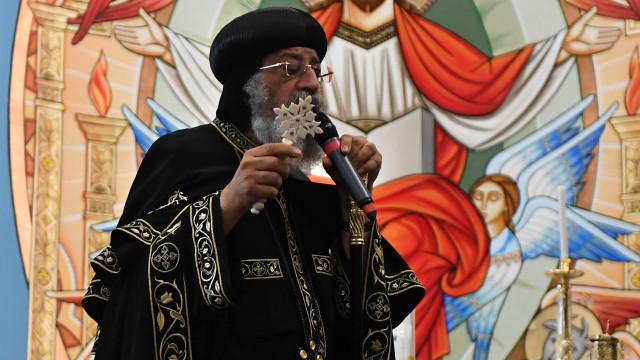 Papa dos coptas do Egito recusa encontro com vice-presidente dos EUA