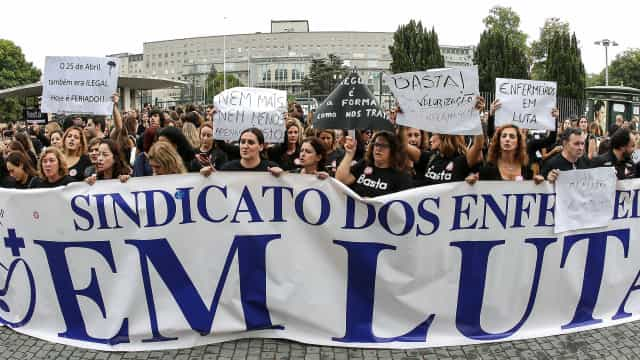 Enfermeiros estarão em greve nos dias 22 e 23 de março