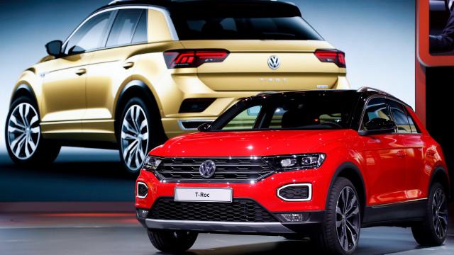T-Roc impulsiona produção da Autoeuropa para mais de 800 veículos por dia
