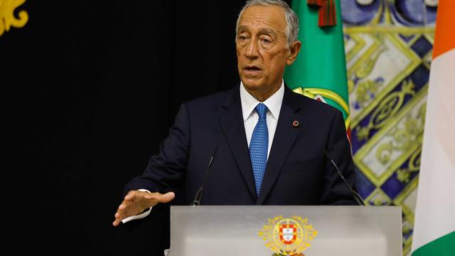 """Marcelo felicita atual e anterior governos por """"uma batalha"""" ganha"""