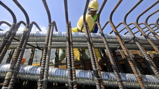 Construção em Cabo Verde evoluiu negativamente no último trimestre