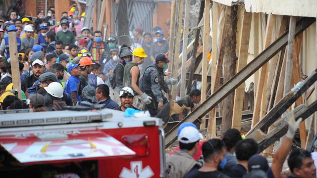 Sismo no México: Mais de 200 mortos, incluindo 21 crianças