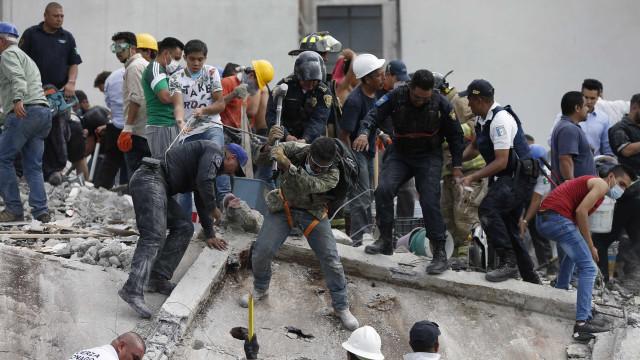 União Europeia pronta para enviar ajuda de emergência para o México