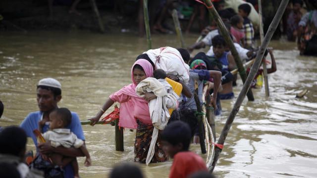 ONU estima que 470 mil refugiados rohingyas precisam de abrigos