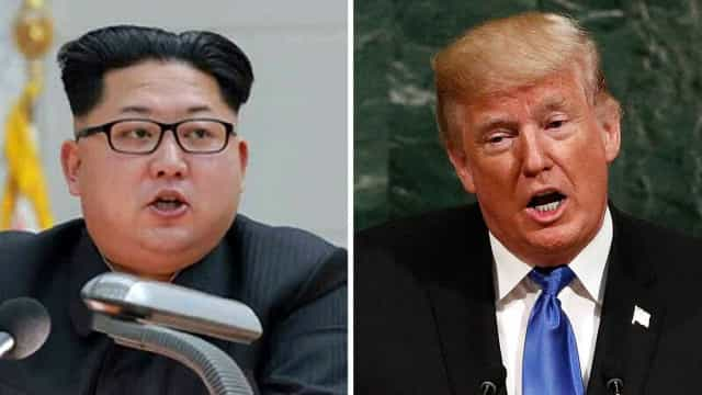 """Trump contra-ataca e chama """"louco"""" ao líder norte-coreano Kim Jong-un"""