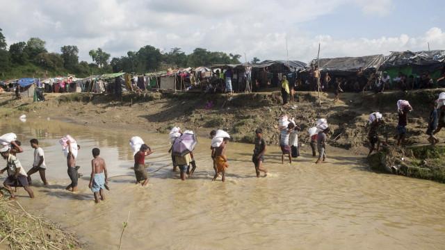 """Birmânia nega """"limpeza étnica"""" contra muçulmanos"""