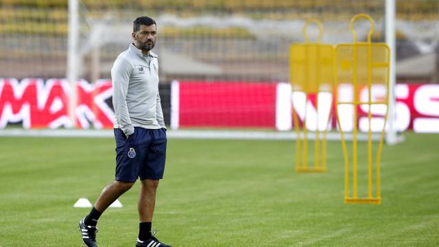 """Sérgio Conceição admitiu """"objetivo pessoal de vencer Taça de Portugal"""""""