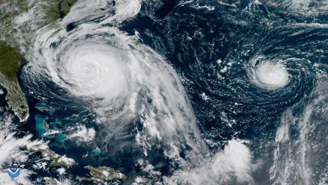 Maria tornou-se novamente furacão e ameaça Carolina do Norte