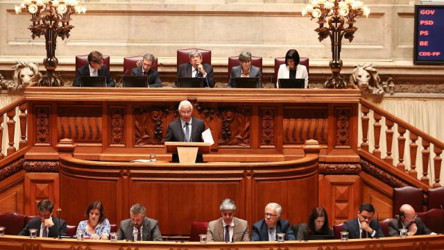 Governo vai enfrentar primeira moção de censura ao fim de quase dois anos