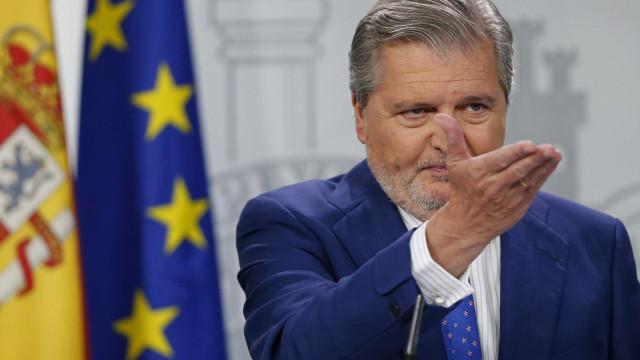 Governo pede a Puigdemont para não começar nada que seja irreversível