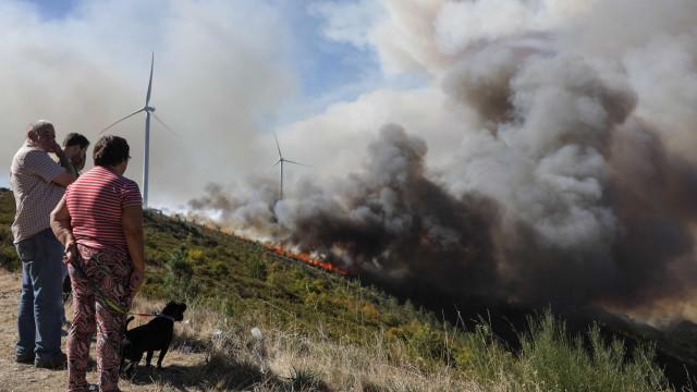 Coimbra: Duas aldeias evacuadas por precaução e estradas cortadas