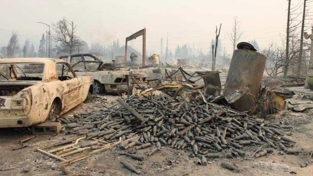 Sobe para 40 número de mortos nos incêndios na Califórnia