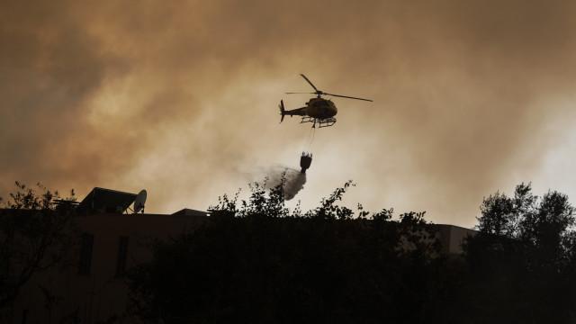 Governo autorizou meios aéreos que chegaram no fim dos fogos de outubro