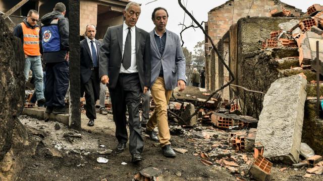"Marcelo alerta que época de fogos definida ""deixou de ter razão de ser"""