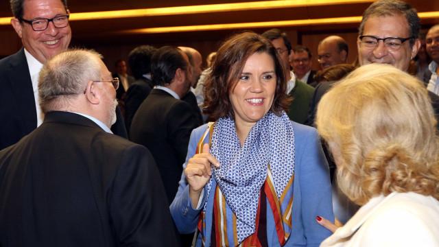 """Cristas: Ouvi com """"espírito construtivo"""" decisões do Conselho de Ministro"""