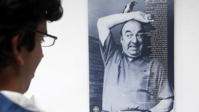 Causa de morte de Pablo Neruda não foi cancro na próstata