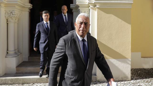 """António Costa defende uma """"nova visão"""" do território nacional"""