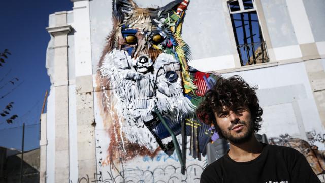 Exposição de Bordalo II em Lisboa prolongada até dezembro