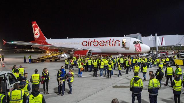 Air Berlin deixa hoje de voar. Tinha declarado insolvência há dois meses