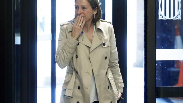 Presidente do parlamento catalão passou a noite na prisão