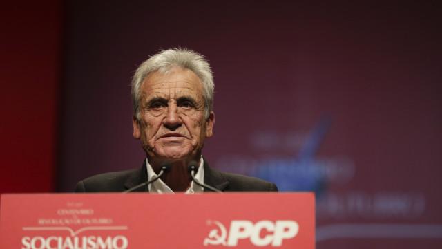 """Jerónimo defende revolução russa e o PCP como partido que """"faz acontecer"""""""