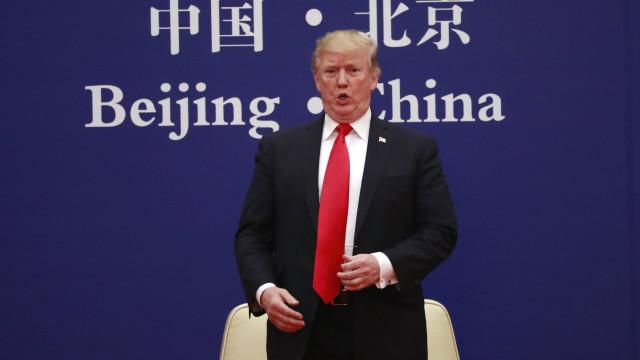 """Trump diz que trabalhará com Xi Jinping para resolver """"problemas globais"""""""