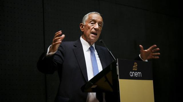 "Marcelo ""gostaria"" que se chegasse a ""compromisso de regime"" na saúde"