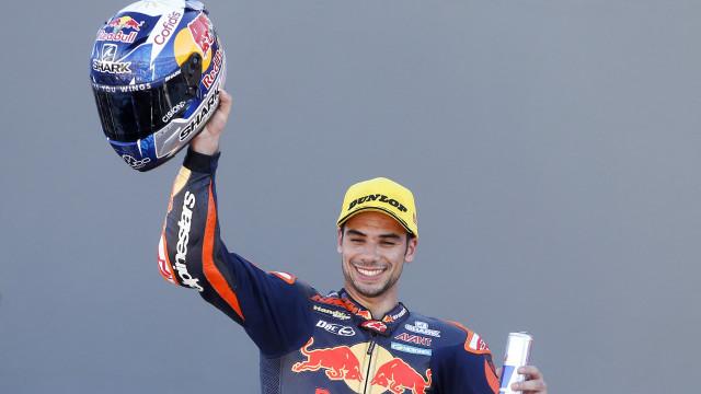 Miguel Oliveira satisfeito com segundo lugar no GP da Catalunha