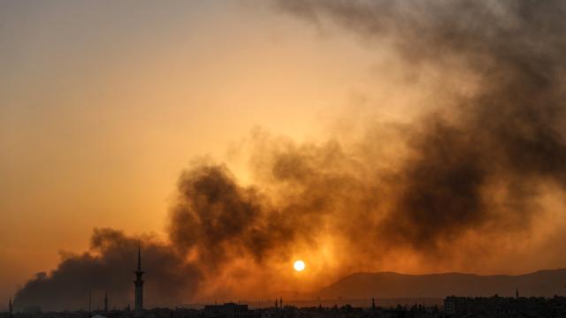 Síria: Regime recupera duas localidades em Ghouta oriental