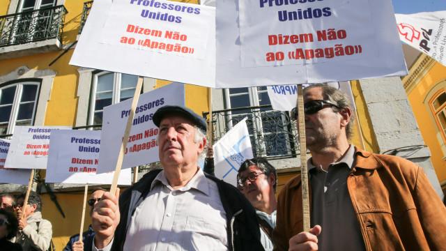 Professores dão início a greve em Lisboa, Setúbal e Santarém