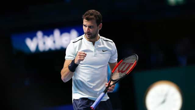 Grigor Dimitrov derrota David Goffin conquista ATP Finals