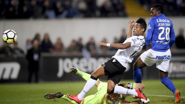 Vitória SC vence Feirense e avança para os 'oitavos' da Taça de Portugal