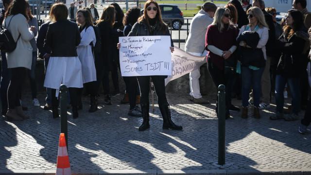 Adesão de 90% em dia de greve de técnicos de diagnóstico e terapêutica
