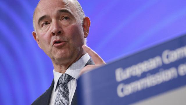 Moscovici diz que riscos são claros, mas Portugal está no bom caminho