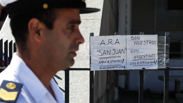 Operação sem precedentes procura submarino desaparecido