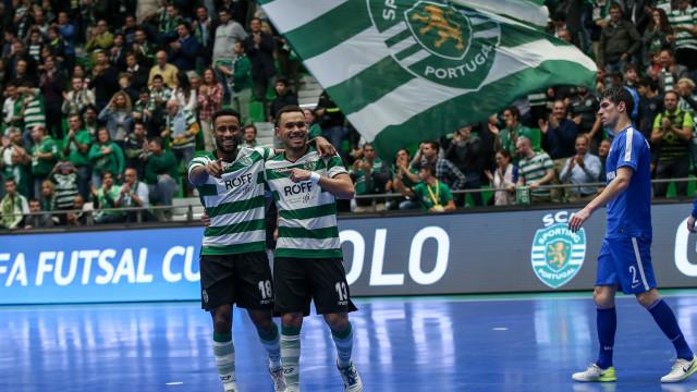 Sporting vence Nacional Zagreb e assegura 'final four'
