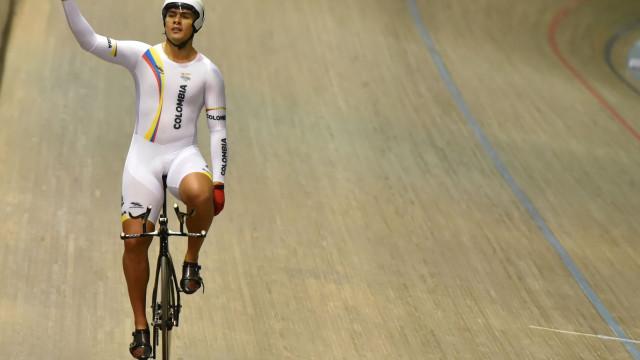 Campeão do mundo de keirin suspenso por doping