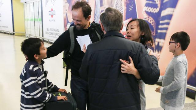 Três pessoas ouvidas em investigação sobre fuga de casal português