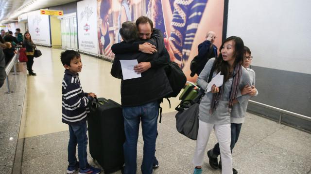Casal português que fugiu de Timor-Leste chegou a Lisboa