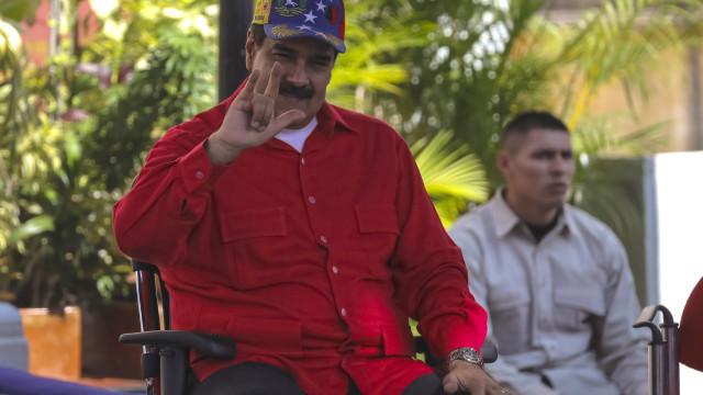 Maduro acusou Portugal de sabotar a importação de pernil de porco