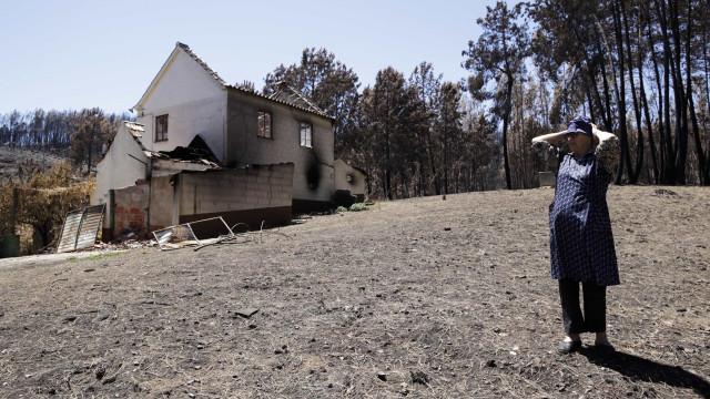 Movimento denuncia irregularidades nos apoios a casas afetadas pelo fogo