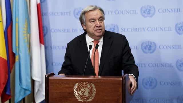 """Um ano após eleição, Guterres está """"pronto para o que der e vier"""""""